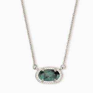 Kendra Scott Ember Silver Pendant Necklace